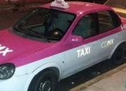 Excelente taxi con renta de placas