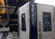 Oportunidad! pantalla alpine de doble din modelo ive-530bt