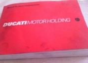 Ducati manual de motos ducati deportivas,contactarse!