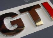 Oportunidad! emblemas edicion especial- nvos-vw gti originales