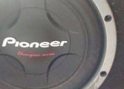 Woofer doblé bobina con fuente cambio