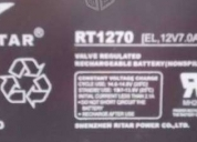 Excelente bateria pila recargable ritar 12v 7ah