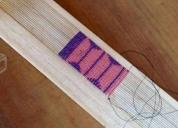 Excelente curso o taller telar de chaquira