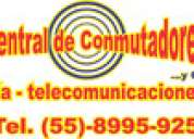 Servicio de mantenimiento a conmutador tda100, tda200