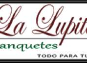 Lalupita banquetes y antojitos mexicanos