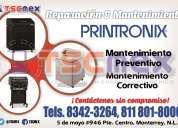 Pólizas de mantenimiento a impresoras printronix