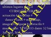 Clases/cursos de verano actuacion modelaje canto etiqueta baile desarrollo humano y...