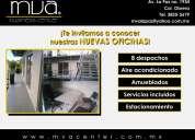 Renta despachos amueblados zona chapultepec