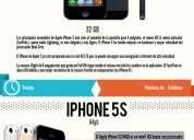 Iphone 5s todas las capacidades disponibles baratos