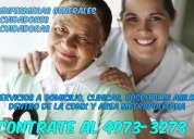 Agencia de servicios de enfermeras a domicilio
