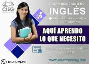 cursos de ingles intensivo