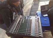 Audio profesional para conferencias, congreso, convenciones