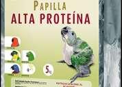 Papilla psitacus alta proteina 5kg