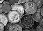 Compro monedas antiguas mexicanas y extranjeras.