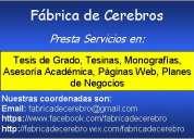 asesoria academica universitaria, tesis, tesinas, investigaciones, analisis estadisticos