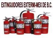 Extinguidores en tijuana recargas, mantenimiento ventas de equipo