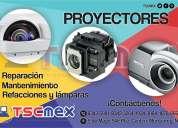 Servicio profesional de reparación a proyectores