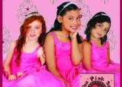 "Fiestas infantiles tematica "" spa para niñas bronce """