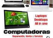 Servicio profesional en reparación de computadoras