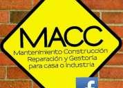 Macc construccion mantenimiento reparacion y gestoria en morelia