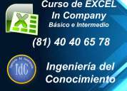 cursos de excel para empresas