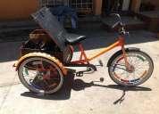 Triciclo vintage para adulto, de los sesentas