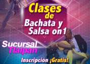 Clases de bachata y salsa on1...