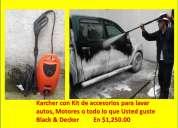 Remato hidrolavadora karcher, black & decker, puebla