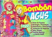 payasos con globoflexia y pintacaritas para fiestas infantiles