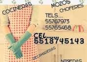 cocineras recamareras naucalpan 55767973