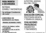 AsesorÍas matemÁticas y psicologÍa infantil