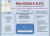 Cursos de regularizacion y apoyo a estudiantes