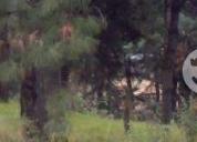 Excelente terreno en huitzilac morelos