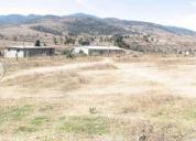 Venta de excelente terreno en villa del carbon