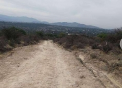 Excelente terreno rustico tepetlaoxtoc