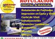 ROTULACION MANUAL EN PUEBLA