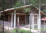 Linda cabañas en pre-venta zona boscosa