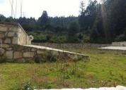 Cabaña en terreno de 1000 m2 por construir. contactarse.