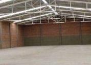 Bodega en cluster industrial 1255 m2, contactarse.