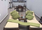 Excelente loft ph con roof garden privado amueblado