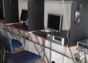 Oportunidad! accesoria para ciber internert con mobiliario