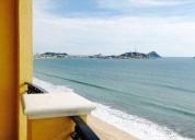Excelente departamento frente al mar