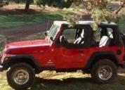 Excelente jeep wrangler 4 cilindros