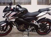 Excelente motocicleta pulsar 200ns