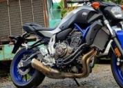 Yamaha fz07 0km estrena,contactarse.