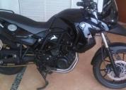 Venta de motocicleta bmw f650gs negra -09