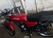 Excelente motocicleta italika   -2013