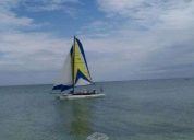 Excelente velero windrider 17.velerisa