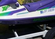 Venta de moto acuática,contactarse.