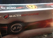 Excelente bocinas 51/4 bass infierno modelo b150
